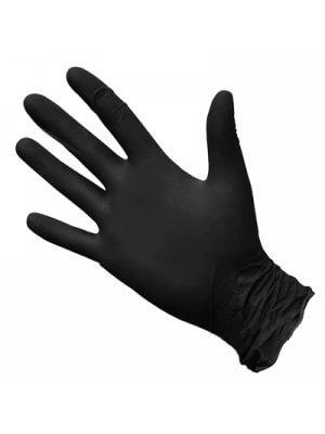 Перчатки нитриловые черные 100шт.
