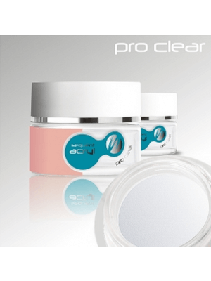 Акриловая пудра прозрачная / Sequent Acryl Pro Clear 72g