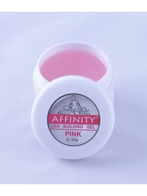 LED Pink гель с розовым оттенком