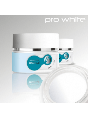 Valge aküülpulber/ Sequent Acryl Pro White 36g