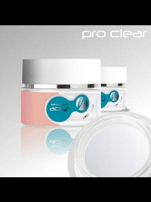 Läbipaistev aküülpulber/ Sequent Acryl Pro Clear 72g
