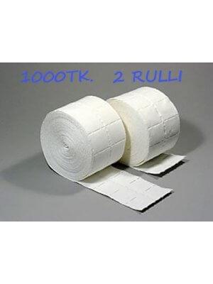 Салфетки 2 рулона (500 шт. в рулоне)