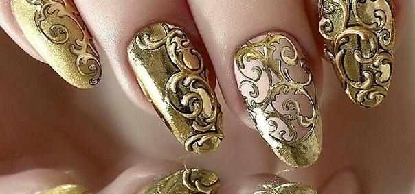 Литье золотое